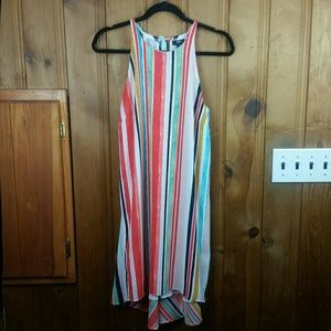 Mossimo Multi-Color High-Low Dress